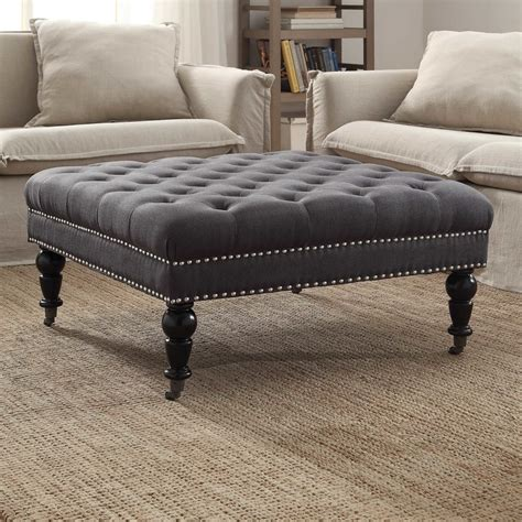 how to make a coffee table ottoman furniture oversized ottoman coffee table for stylish