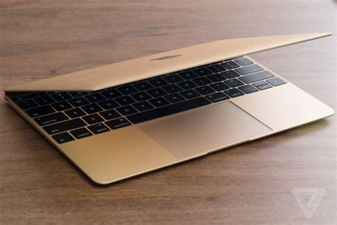 Mac Gold 12 inch macbook review the verge
