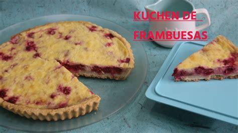 kuchen eierlikör kuchen o tarta de frambuesa
