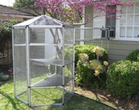 backyard cat enclosure how to buy an outdoor cat enclosure cheap