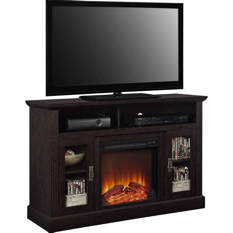 Tv Table With Fireplace by Fireplace Tv Stand