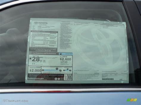 Toyota Window Sticker By Vin Window Sticker By Vin Toyota Autos Post