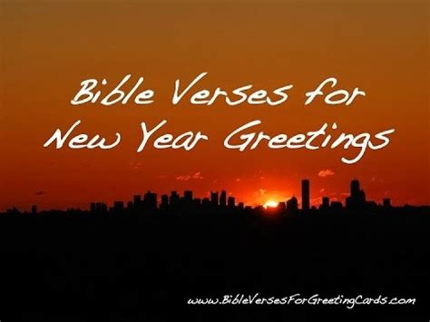 for new year bible verses for new year