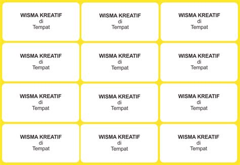 template label undangan 135 template undangan gratis word mencetak label undangan