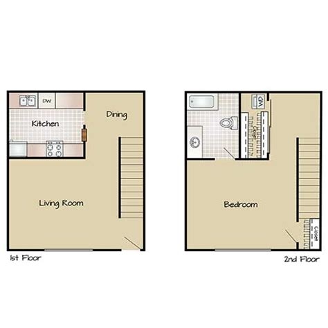 Bathroom Floor Plans With Washer And Dryer 1 And 2 Bedroom Floor Plans Marquee Uptown Apartments