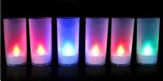 Promo Natal Lilin Electric 7 Warna Colorful Led Candle Lu slim candle electric bisa berubah 7warna unique loecoe