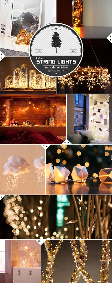indoor string lights ideas home decor ideas beautiful ways to use string lights