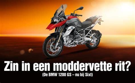 Bmw Motorrad Nederland by Autoverhuurbedrijf Sixt Verhuurt Bmw Motoren In Nederland