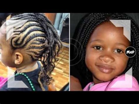 braid hairstyles for black women with a little gray little black girl braided hairstyles youtube