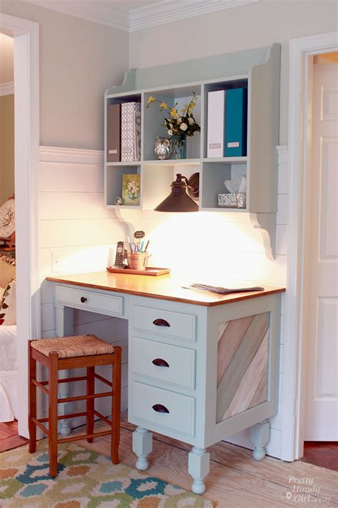 kitchen desk with hutch wall mounted kitchen hutch tutorial pretty handy