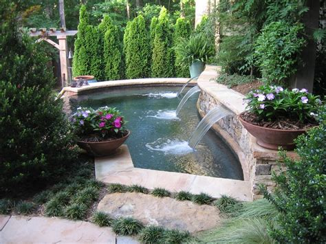 Small Backyard With Pool Landscaping Ideas Small Pond Swimming Pool Ideas Studio Design Gallery Best Design