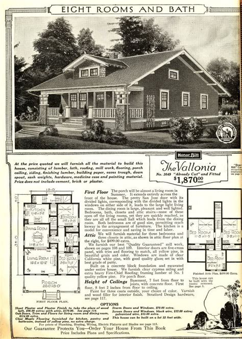 sears craftsman house sears vallonia from the 1916 catalog the original layout