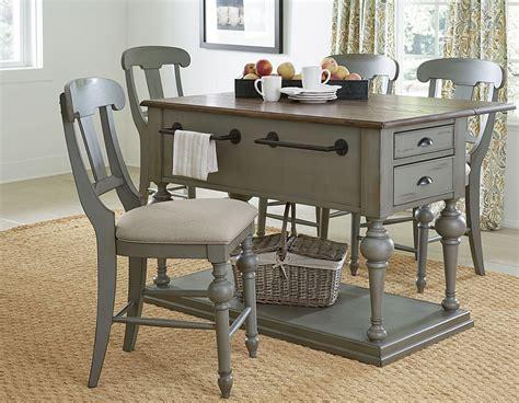 kitchen island furniture colonnades putty and oak kitchen island from progressive furniture coleman furniture