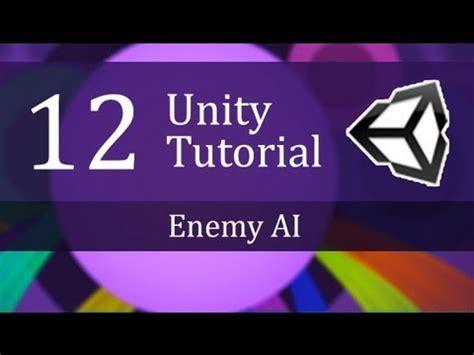 unity tutorial enemy 12th unity tutorial enemy ai create a survival game