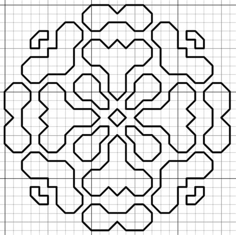 Bp 248 All Motif 1 imaginesque blackwork motif pattern version 1