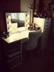Makeup Vanity Ideas Ikea Ikea Alex And Mickey Desk Diy Makeup Vanity Cool Makeup