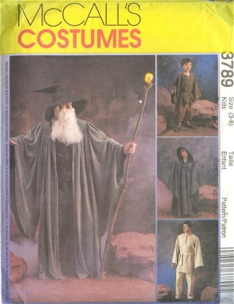 free pattern jedi cloak free mccall s costume pattern 3789 star wars jedi