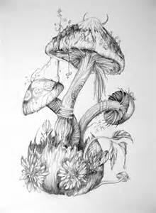 mushrooms by 6vladimira6 on deviantart
