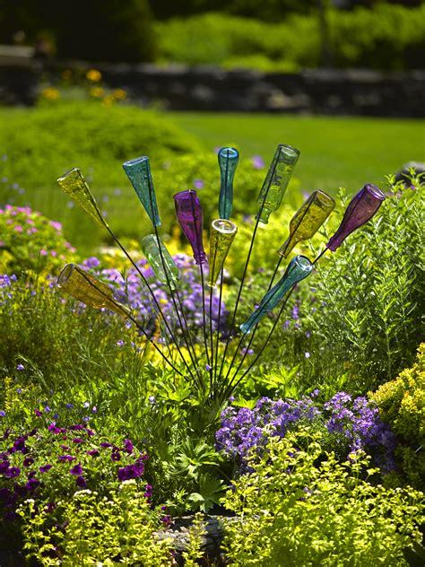 bottle bush  small bottle tree yard art gardeners