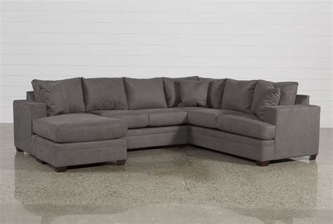 es sofas laf sofa delta city steel 3 piece sectional w laf chaise