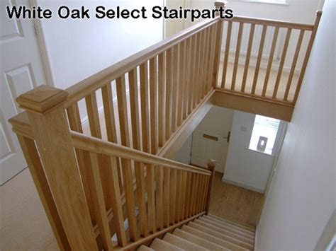 Oak Banisters by Oak Handrail Offers White Oak Select Range Stair Rails