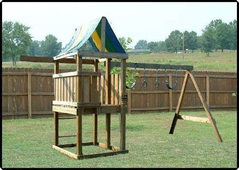 backyard jungle gym plans learn how to build a fort deluxe swing set jungle gym