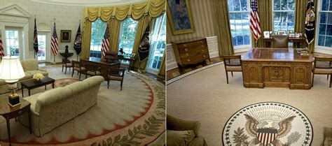 trump oval office rug this is the first thing donald trump changed in the oval
