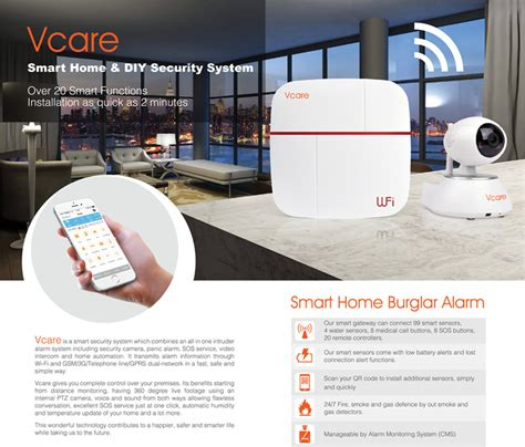vcare smart wifi alarm