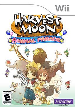 Kain Karakter Pohon anime and harvest moon animal parade wii iso