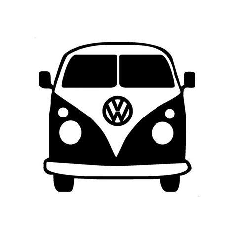 volkswagen bus front vw bus front vinyl decal