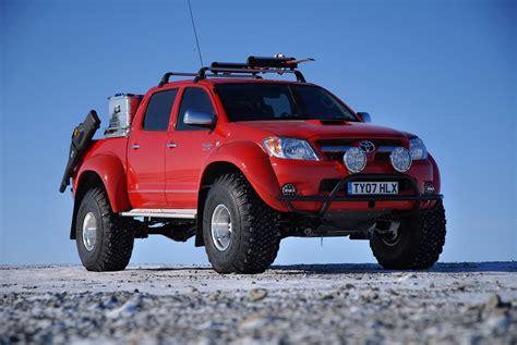 toyota hilux arctic arctic trucks vehicle conversions gear patrol