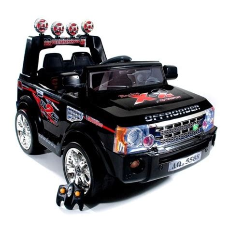 kid car jeep black 12v range rover sport style ride on jeep 163 199 95