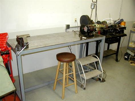 homemade metal work bench pdf diy metal work bench plans download march 2013 table