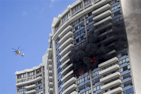 hawaii appartments 3 dead 12 injured in high rise fire in hawaii las vegas