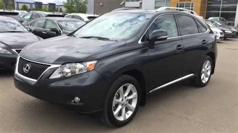 gray lexus rx lexus certified pre owned gray 2010 rx 350 awd touring