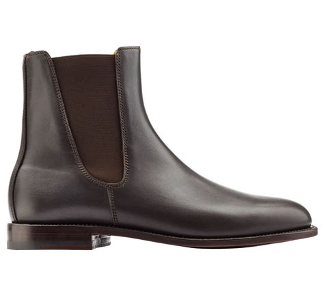 Mens Handmade Leather Boots - handmade chelsea boots genuine leather chelsea boot