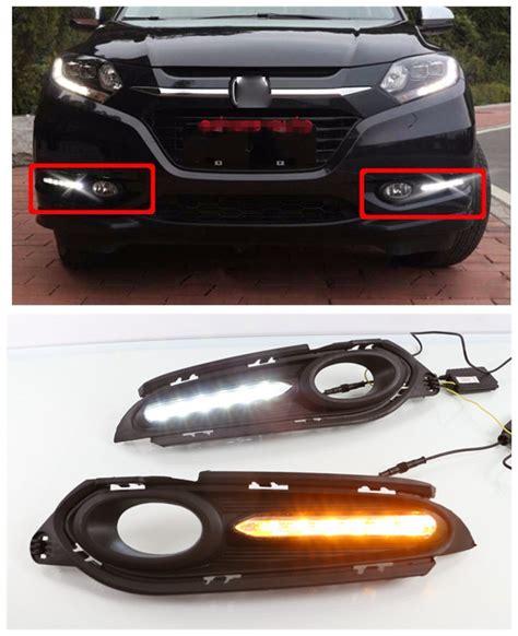 Led Drl Honda Hrvsen 1 for honda hrv hr v vezel led drl car accessories led daytime running lights high power daylight