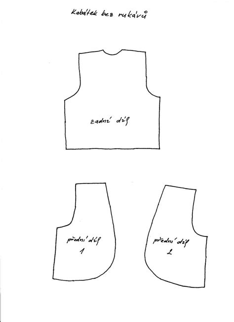 printable baby vest pattern new 748 barbie doll vest pattern doll pattern