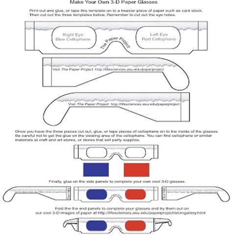 Kacamata 3d Cyan Frame Plastik software kacamata 3d