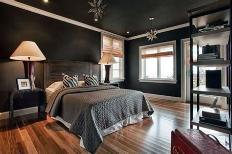 Bedroom With Black Ceiling by 27 Jaw Dropping Black Bedrooms Design Ideas Designing Idea