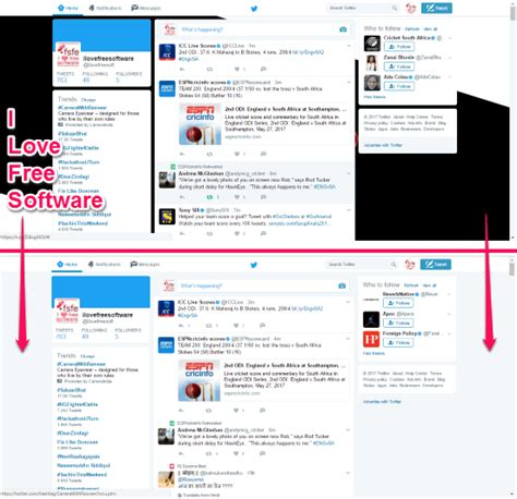 change layout on twitter how to change background of twitter website in chrome