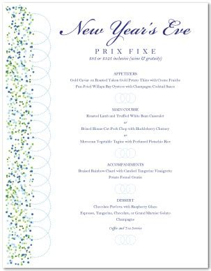 new year menu meaning new year s menu template new year s menus