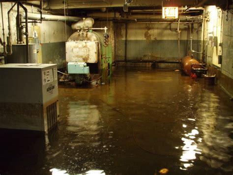 flooded basement flood damage pinterest