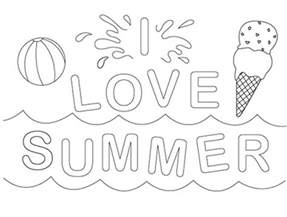 summer coloring pictures summer coloring pages