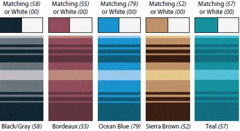 awning colours fiesta rv awnings