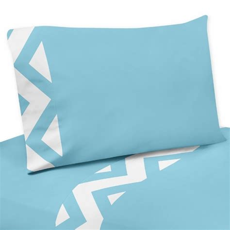 turquoise chevron bedding 4 pc queen sheet set for turquoise and white chevron bedding collection only 69 99