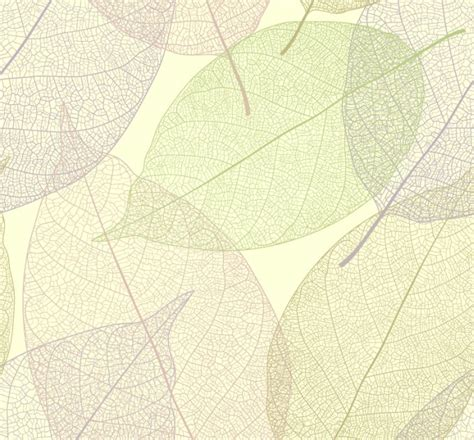Leaf Pattern Vector Background | leaf background