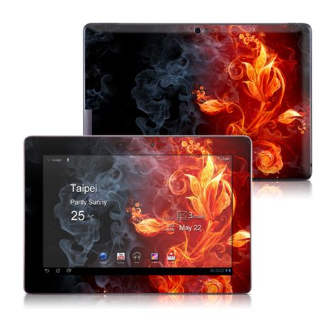 asus tf700 wallpaper asus transformer tf700 skin flower of fire by gaming