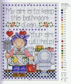 bathroom cross stitch patterns free 1000 images about toilet cross stitch on pinterest