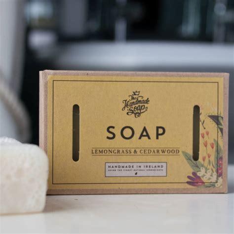 Handmade Soap Company - cedarwood and lemongrass soap by the handmade soap company